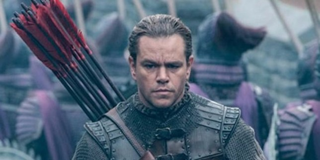 Matt Damon says his role in The Great Wall was always intended to be European (Picture: Legendary)