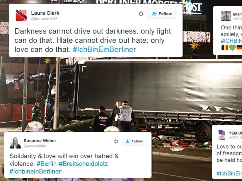 #IchBinEinBerliner: World prays for Berlin following Christmas market crash
