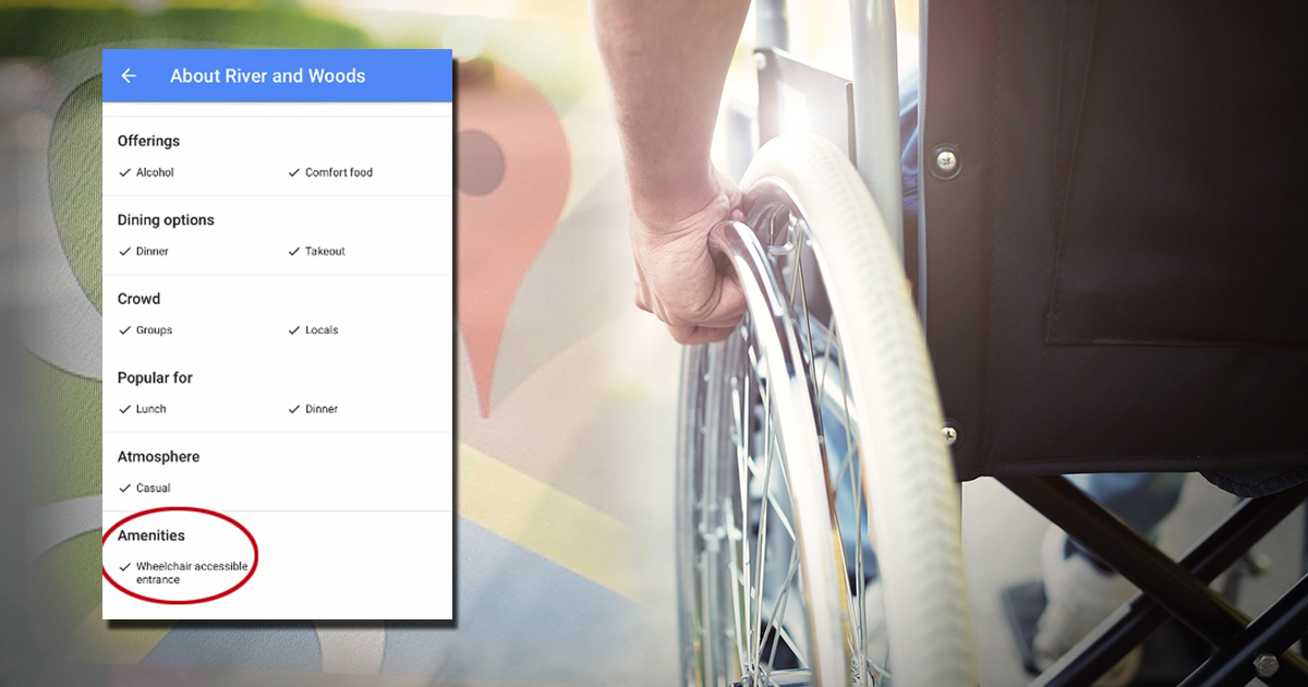Google Maps is about to become a lot more wheelchair friendly