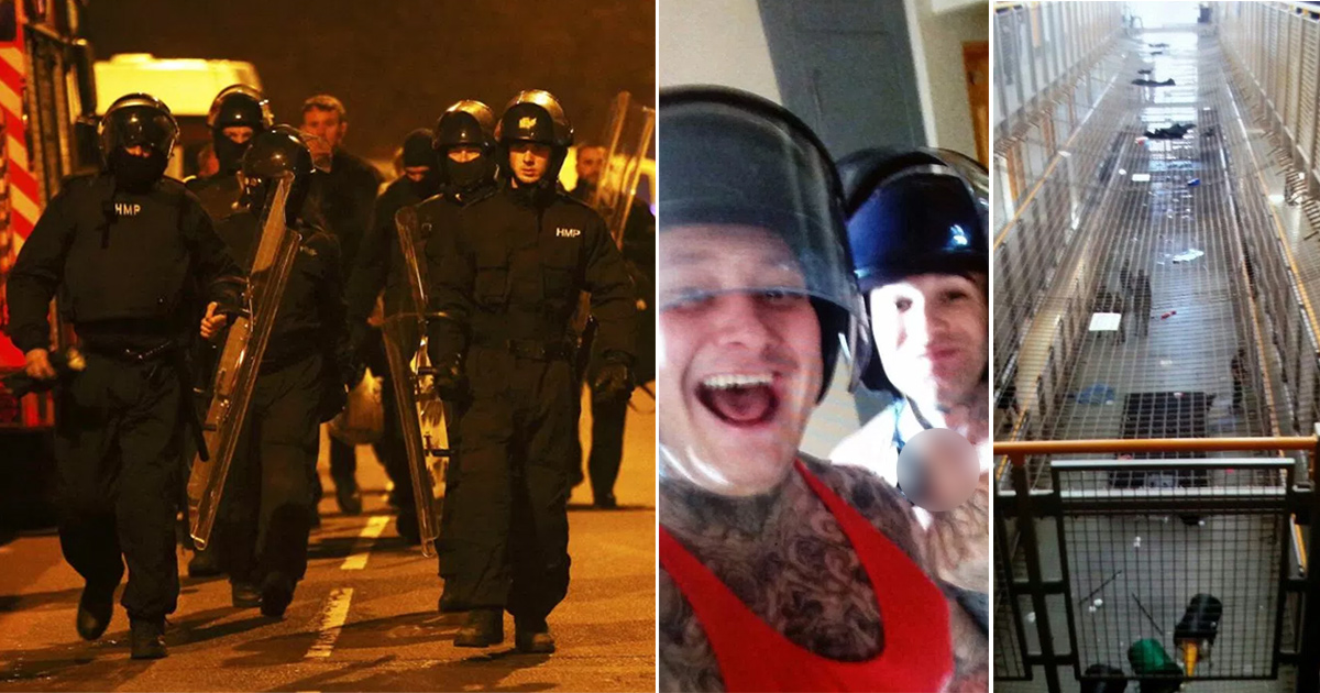 HMP Birmingham plunged into chaos as 600 rioting prisoners take control