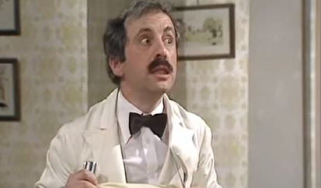 We've found some of Andrew Sach's best Fawlty Towers moments (Picture: BBC)