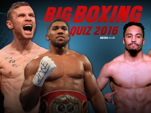 Boxing 2016 Quiz: What do you remember from a fantastic year of action in the ring?