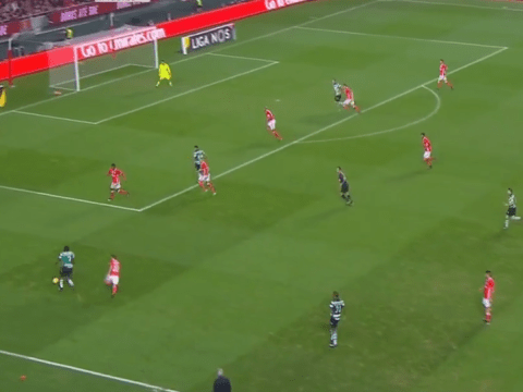 Arsenal loanee Joel Campbell pulls off sublime assist for Sporting Lisbon against Benfica