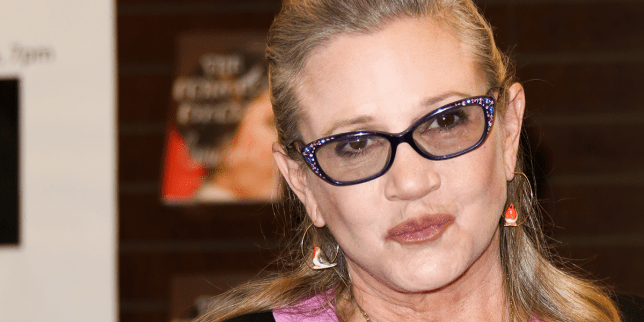 Carrie Fisher passed away on December 27 (Picture: FilmMagic)