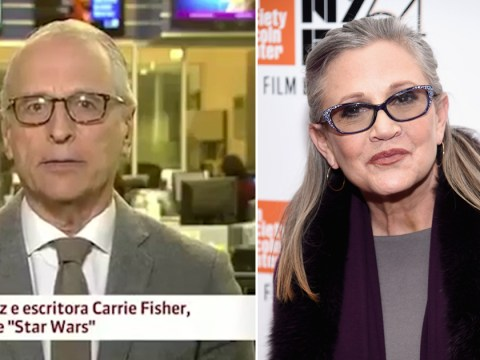 Brazilian news anchor makes Star Wars joke about Carrie Fisher's death