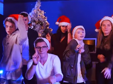 Some of the world's biggest YouTube stars are making a bid for the Christmas No 1