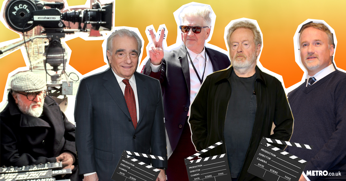 David Lynch, Martin Scorsese, Ridley Scott, Sergio Leone and David Fincher