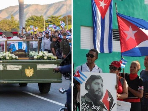 In pictures: Cuba says final goodbye to Fidel Castro