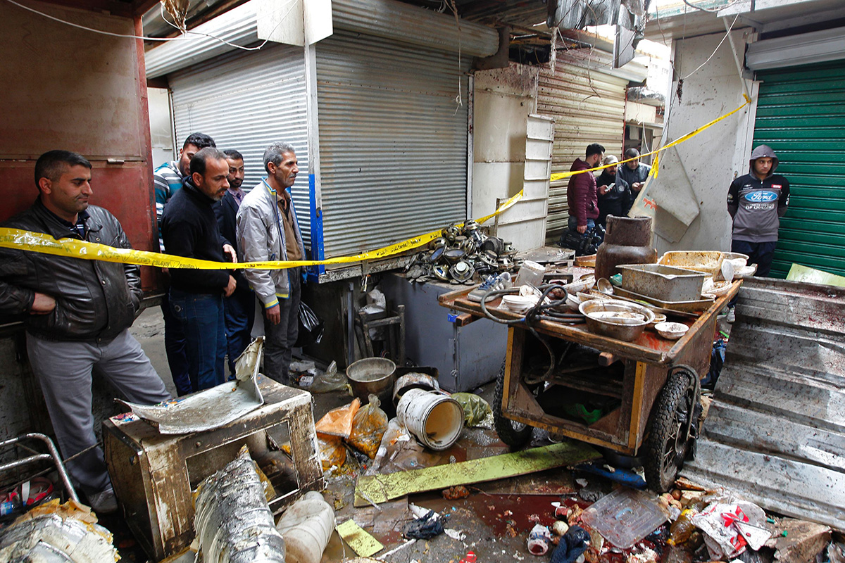 Baghdad bomb kills 21 getty