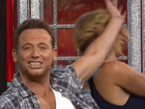 WATCH: Joe Swash whacks girlfriend Stacey Solomon in the face on I'm A Celeb spin-off show Extra Camp