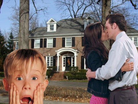 Did Chandler and Monica from Friends end up living in the house from Home Alone?