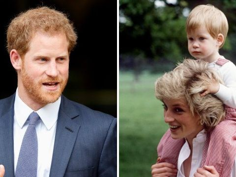 Prince Harry says he 'buried his emotions' after Princess Diana's death