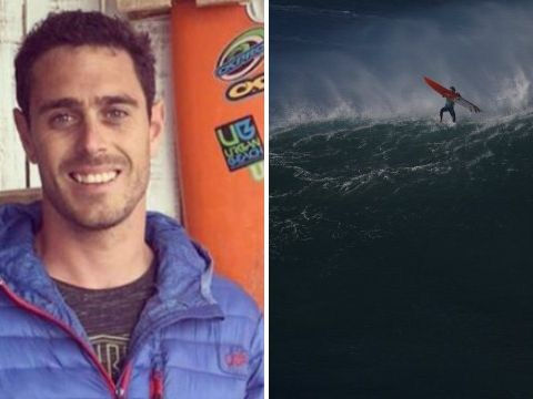 British surfer 'annihilated' attempting to tackle monster 45ft wave