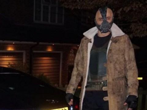 Harry Bane! Tottenham star Harry Kane dresses as Batman villain for Christmas party