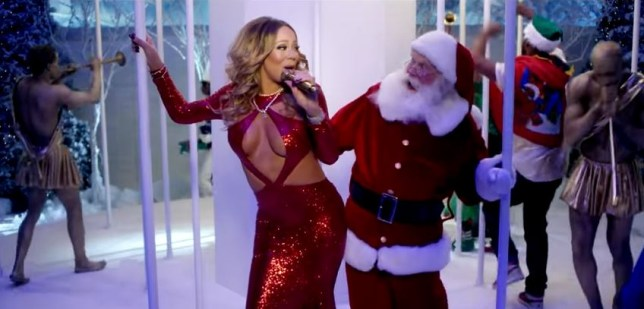 Mariah Careys All I Want For Christmas Is You.Mariah Carey S All I Want For Christmas Is You Again Is