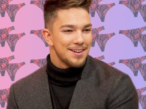The X Factor's Matt Terry reveals racy fan underwear selfies have been lighting up his Twitter feed