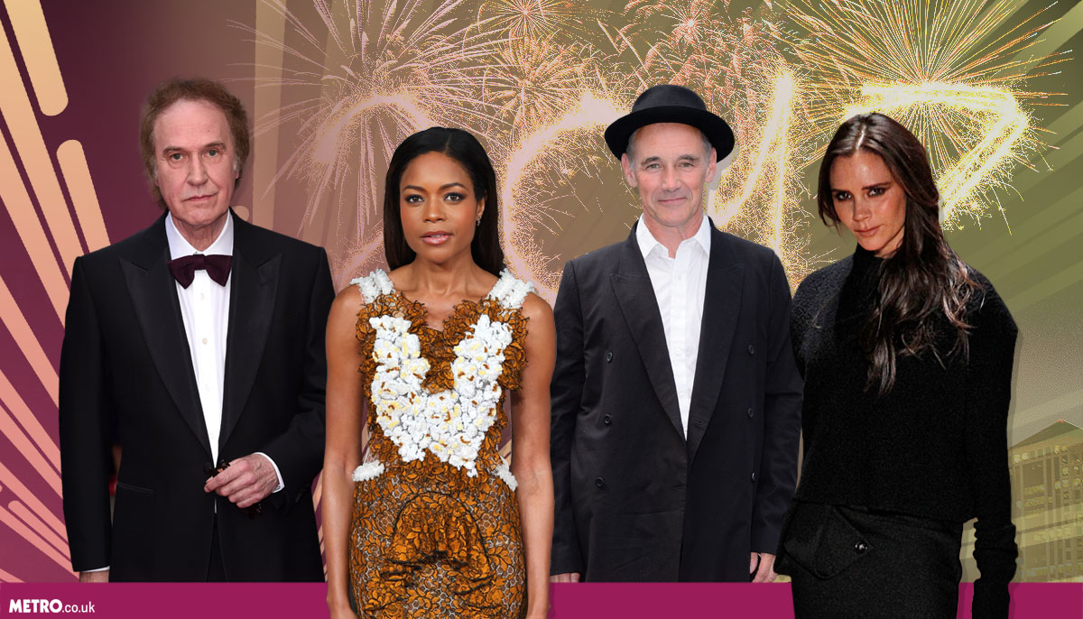 Victoria Beckham, Naomie Harris and Mark Rylance named in Queen's New Year's Honours Lists