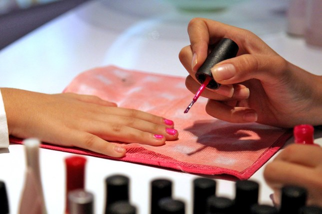 97 arrests have been made during immigration raids on nail salons (Picture: PA)