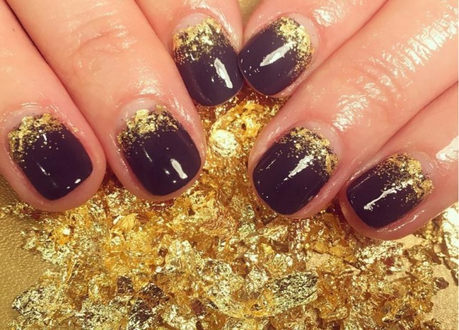 painted lady shoreditch nails new year's eve nail art ideas