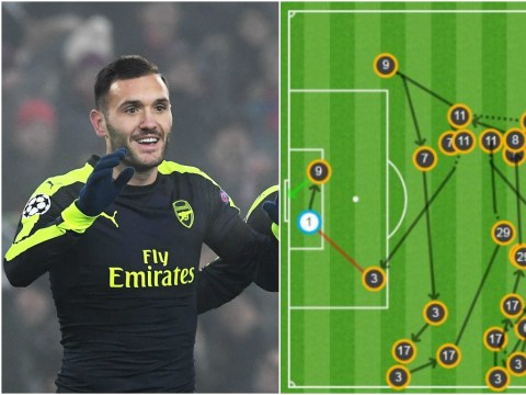 Arsenal officially score best team goal in Champions League so far this season
