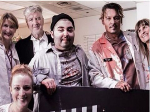 David Lynch and Johnny Depp are helping a teenager with stage four cancer make a gory zombie film