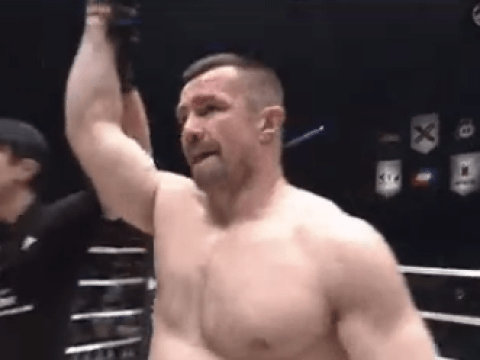 Defending champion Muhammed 'King Mo' Lawal falls to MMA legend Mirko Filipovic at Rizin World Grand Prix