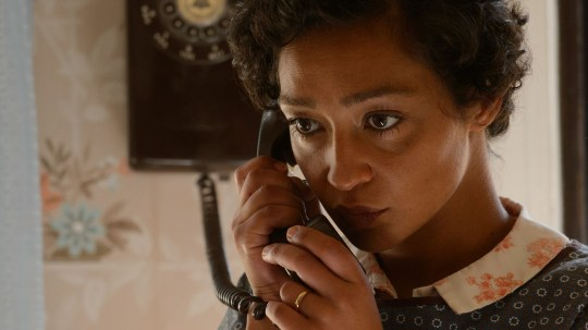 Ruth as Mildred Loving in Loving