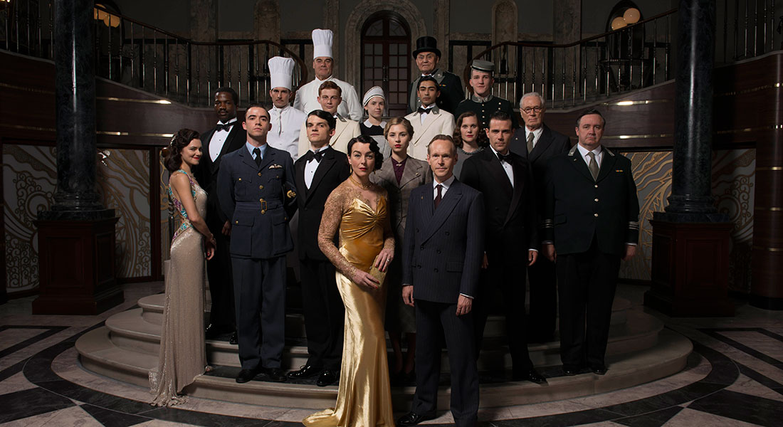 Five reasons why you'll want to check into ITV's new World War II drama The Halcyon