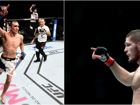 Khabib Nurmagomedov labels Tony Ferguson a 'chicken' as he orders him to sign UFC contract