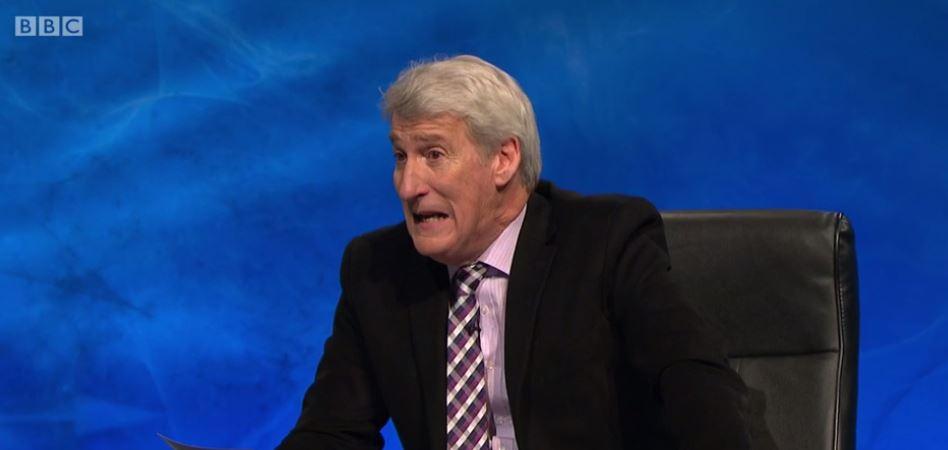Eagle-eyed viewers spot Jeremy Paxman make a mistake on University Challenge