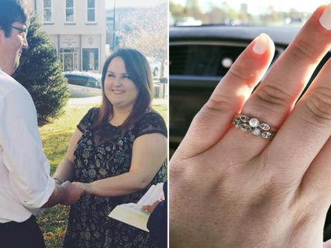 Woman shuts down shop assistant who slated her 'pathetic' engagement ring