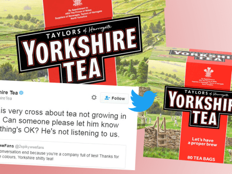 Yorkshire Tea destroys man complaining its tea isn't grown in Yorkshire