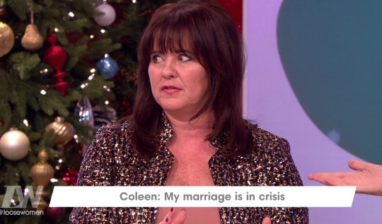 Coleen Nolan has come under fire from some Loose Women viewers (Picture: ITV)