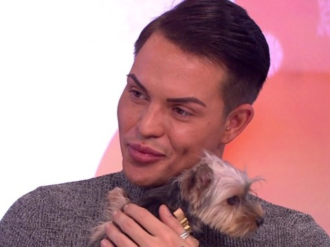 WATCH: TOWIE's Bobby Norris introduces adorable new puppy Baby to the Loose Women