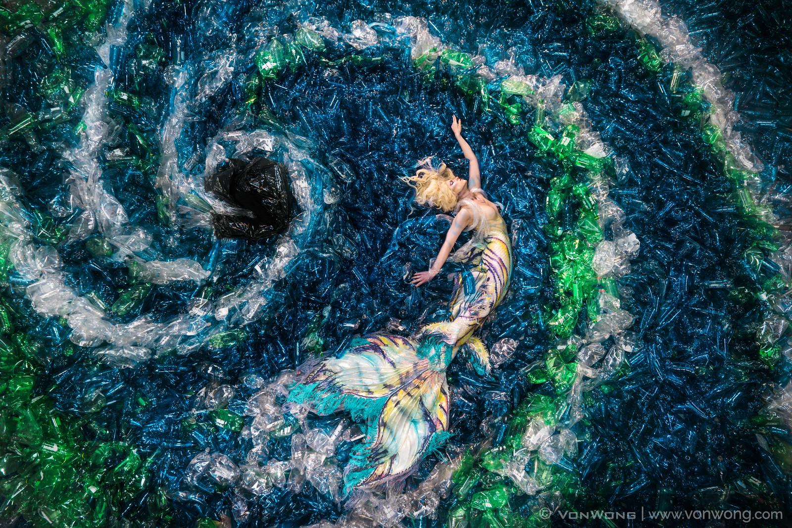 Mermaid bottle project