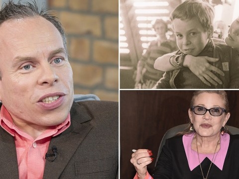 Warwick Davis shares throwback photos of Carrie Fisher at Star Wars wrap party and pays touching TV tribute to her