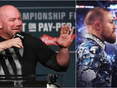 UFC president Dana White says Conor McGregor's super fight with Floyd Mayweather is 'never going to happen'