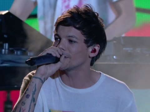 WATCH the moment Simon Cowell hugs Louis Tomlinson after emotional X Factor performance