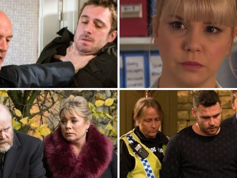 12 soap spoiler pictures: Coronation Street fire, EastEnders tragedy, Emmerdale attack, Hollyoaks return