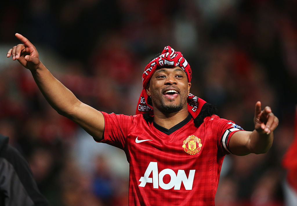 Patrice Evra would have done everything to re-join Manchester United