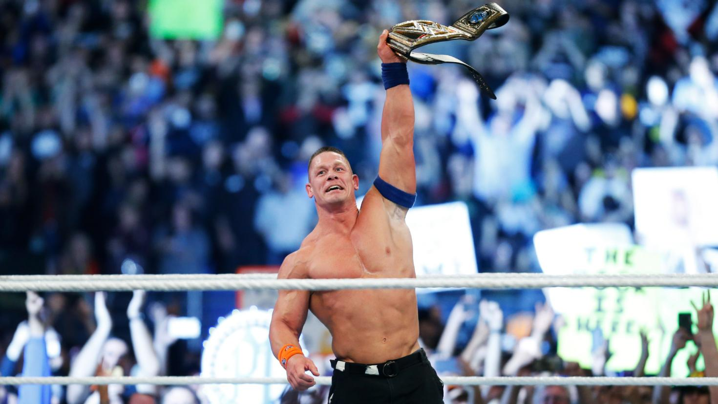 John Cena is the new WWE Champion (Picture: WWE)