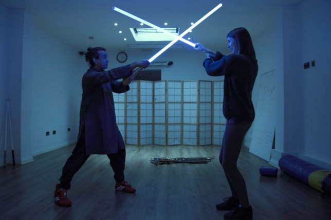 Lightsaber martial arts classes are real and we tried them