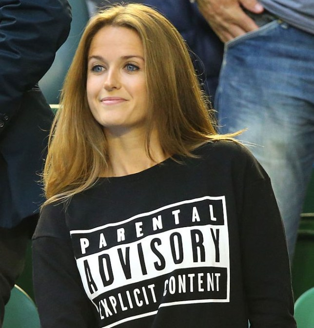 MELBOURNE, AUSTRALIA - FEBRUARY 01:  Girlfriend of Andy Murray, Kim Sears looks on ahead of his men's final match against Novak Djokovic of Serbia during day 14 of the 2015 Australian Open at Melbourne Park on February 1, 2015 in Melbourne, Australia.  (Photo by Scott Barbour/Getty Images)
