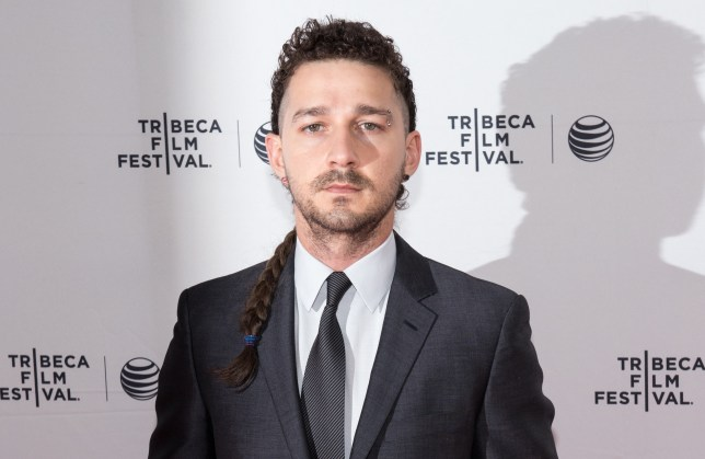 Actor Shia LaBeouf has launched his latest live art project in protest of Donald Trump (Picture: WireImage)