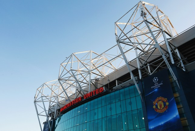 MANCHESTER, ENGLAND - SEPTEMBER 30: A general view outside the stadium prior to the UEFA Champions League Group B match between Manchester United FC and VfL Wolfsburg at Old Trafford on September 30, 2015 in Manchester, United Kingdom. (Photo by Dean Mouhtaropoulos/Getty Images)