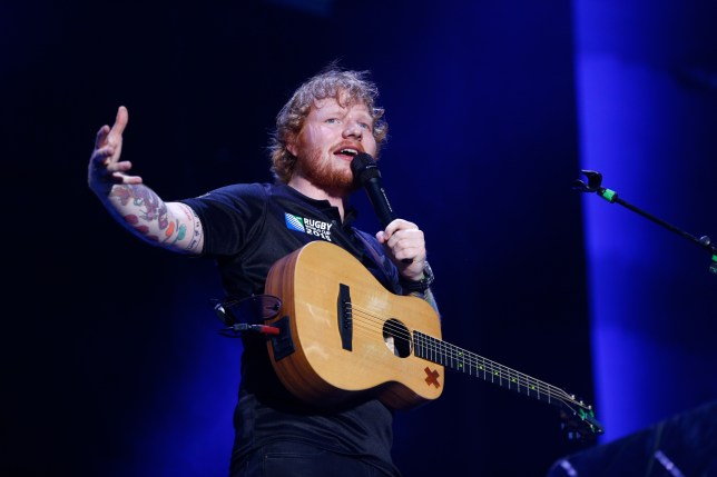 Ed Sheeran debuted his new tunes last week (Picture: Phil Walter/Getty Images)