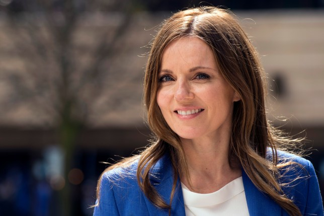 Geri Horner announced the news on Twitter (Picture: Getty Images)