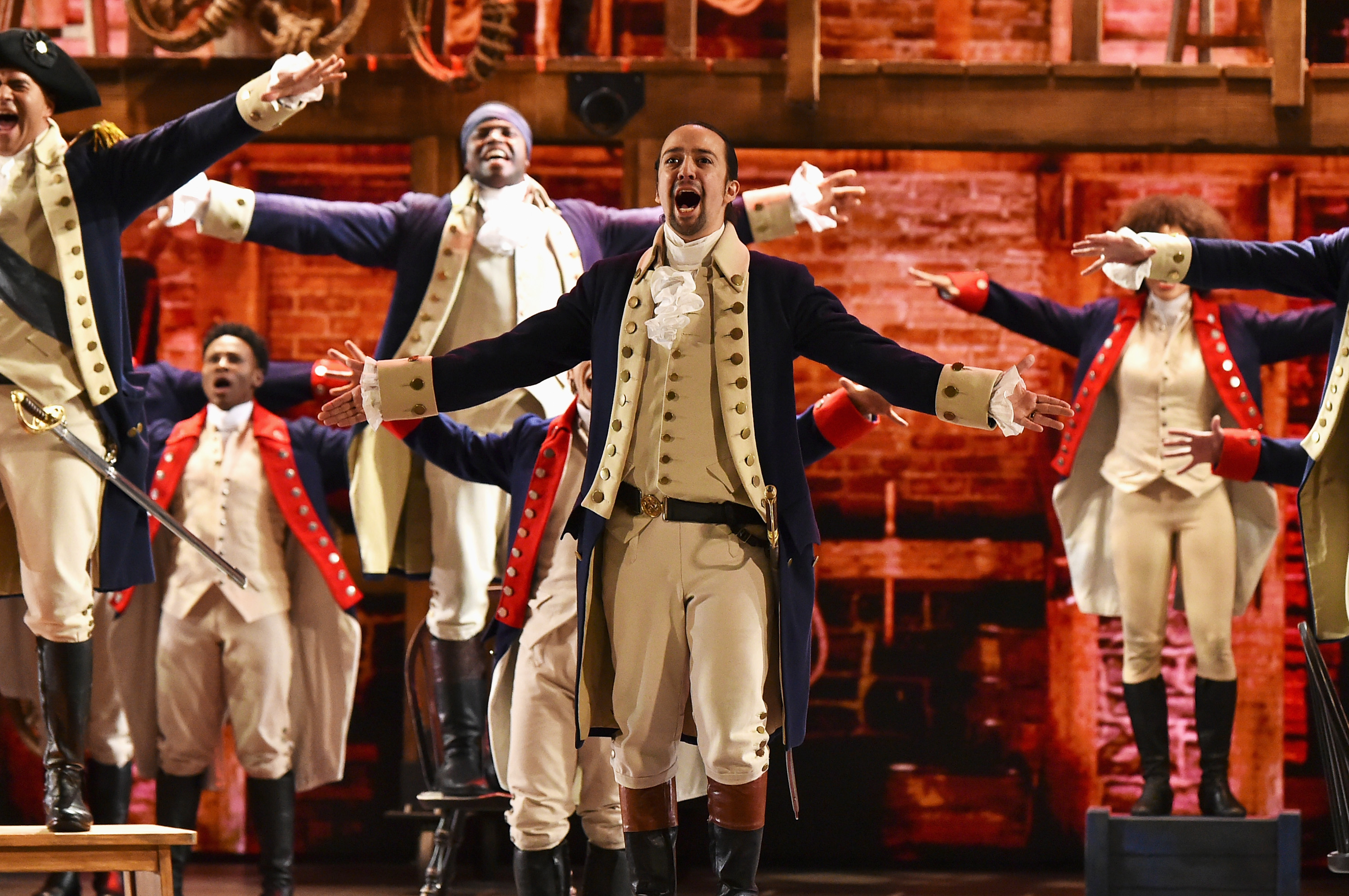 Tickets for Hamilton in London are already selling for almost £3,000 online
