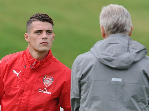 Furious Arsene Wenger to hold showdown talks with Granit Xhaka