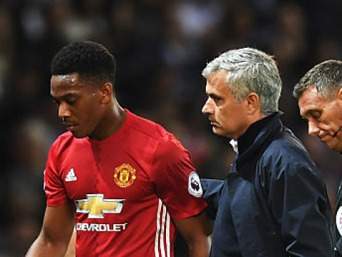 Manchester United drop Anthony Martial for Hull City clash